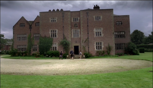 Peover Hall exterior - Survivors S1, Ep4